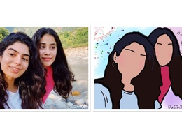 Draw a cartoon illustration from your photo