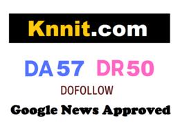 Guest Post on Google News Approved Website - DA57 DR50