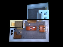 Design the lighting for your home in 3d