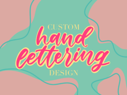 Create a custom hand lettering design