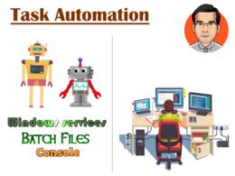 Automate a Windows task, script or batch it