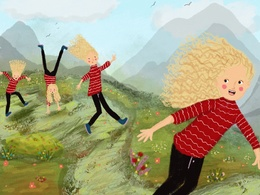 Create Professional Children's  Book Illustrations For 15 page