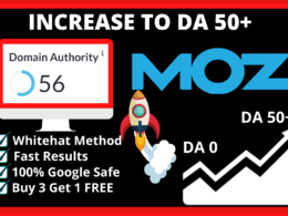 Increase domain authority to 50+ in 14 days