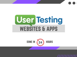 Perform user test on your website or app with video report