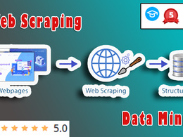 Web Scraping +6000 Page | Data Mining | Bot developing