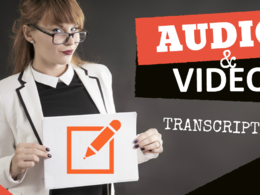 Do audio or video transcription in 24hrs
