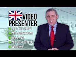 Be your branded office spokesperson video presenter
