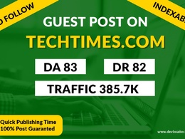 Provide you Guest Post on TechTimes
