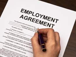 Write your staff employment contract