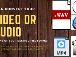 Convert your video or audio to any file format