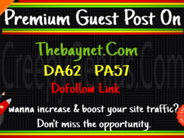 Publish A Guest Post on News site TheBayNet DA62 With Dofollow