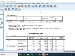 Analyze your data in SPSS