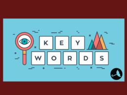 Do  keywords research for your website