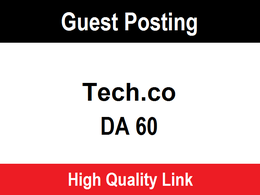 Publish a guest post on tech - tech.co DA 66