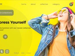 Design your professional web landing page