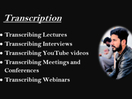 Do 60 min audio/video transcription urgently in 24 hours