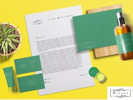 Brand identity, stationery, business branding, package, and logo