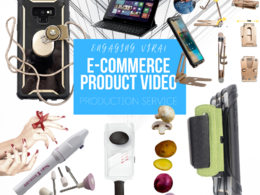 Film edit commerce product video to viral successful ad campaign