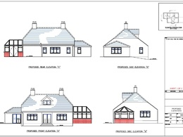 Provide outline or full planning application drawings