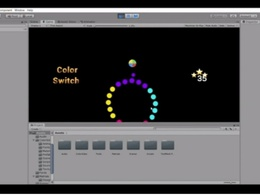Color Switch Game Source Code in Unity