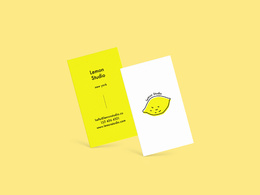 Design a minimalist name card or business card within 24 hours