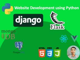 Build your python django and flask web