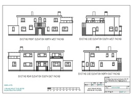 Provide architectural drawings for your extension