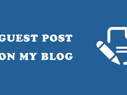 Publish Business Guest Post in my Blog With Dofollow Link