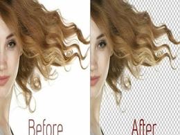 Remove background of 50 photos