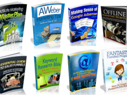Send you 100 digital marketing ebooks you can resell