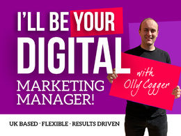 Amazing Marketing Manager For Your Business