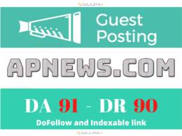 Guest post/press release on apnews, apnews.com