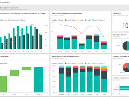 Create professional Power Bi reports and dashboards