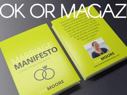 Design book or magazine layout