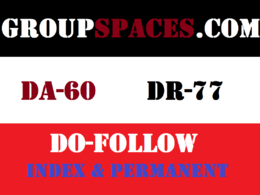 Publish Dofollow Guest Post On Groupspaces DA 60