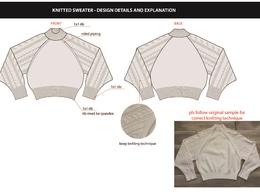 Produce a garment tech pack