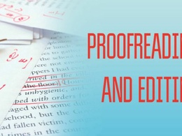 Professionally proofread your document up to 3000 words