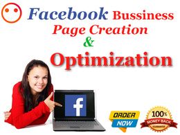 Design and create facebook business page and fan page