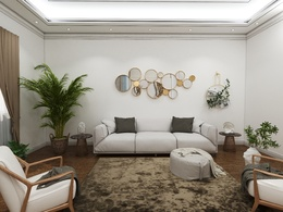 Design and realistic render your interior space
