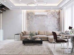 Interior Design by photo realistic rendering