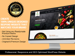 Design & develop responsive, SEO friendly WordPress website