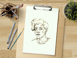 An amazing ink illustration