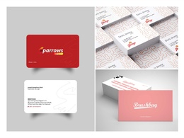 Create a Professional corporate business card