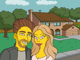 Draw you custom Simpsons portrait from photo