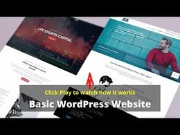 Design & develop 10 page responsive website in WordPress/CMS