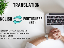 Translation - 500 words from English into Brazilian Portuguese o