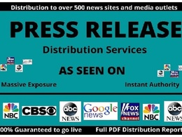 Submit Press Release To Google News, CBS, Fox, ABC, 350+ News