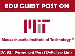 Publish EDU Guest Post on Mit.edu DA 93 Dofollow Link