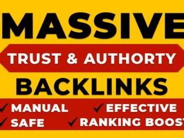 Create high quality manual backlinks