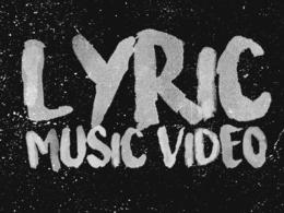 Animate a handwritten kinetic typography lyric music video
